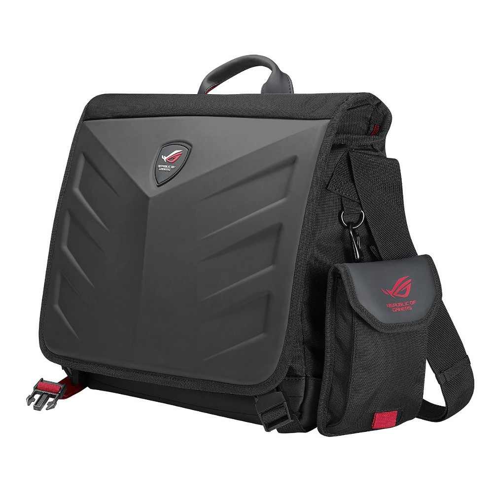 Аксессуар Сумка 15.6-inch ASUS Rog Rancer Messenger Black 90XB0310-BBP000
