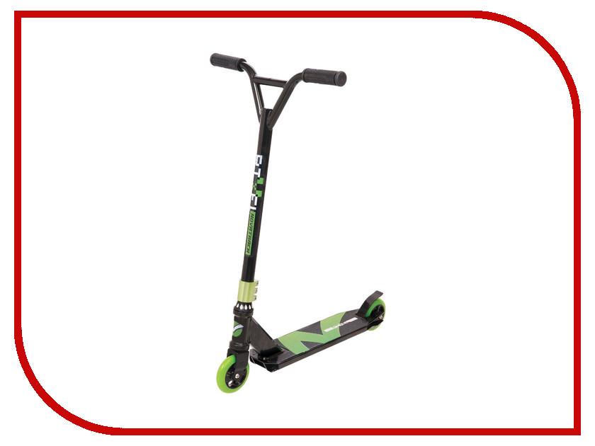 Самокат Novatrack Pixel 100 Black-Green 100A.PIXEL.BGR7