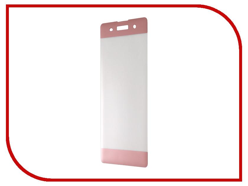 Аксессуар Защитное стекло Sony Xperia XA Solomon 3D Pink frame аксессуар защитное стекло meizu u20 solomon full cover white
