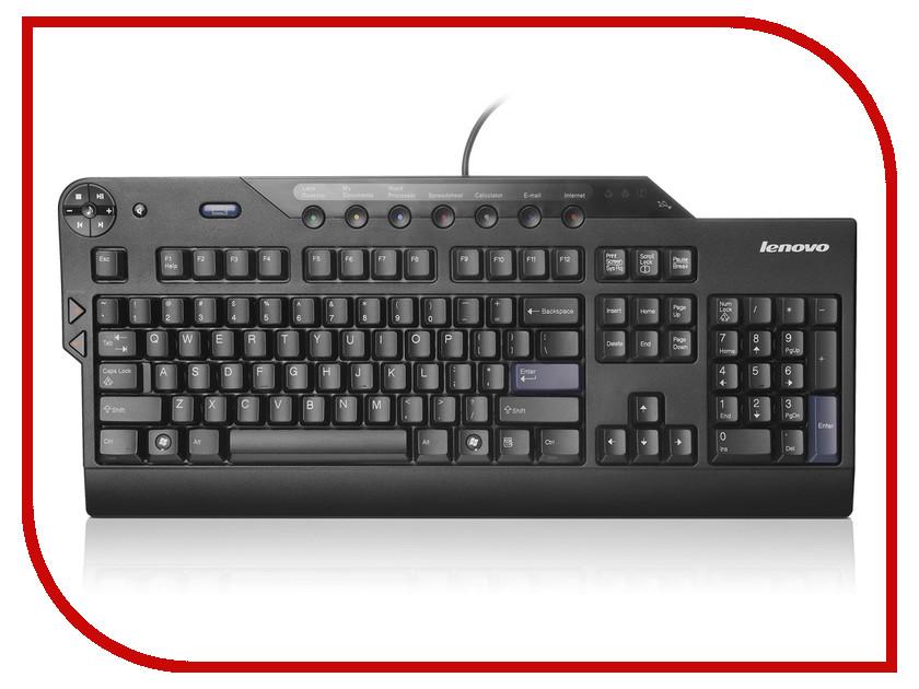 Клавиатура Lenovo ThinkPlus Enhanced Performance Black USB 73P2646