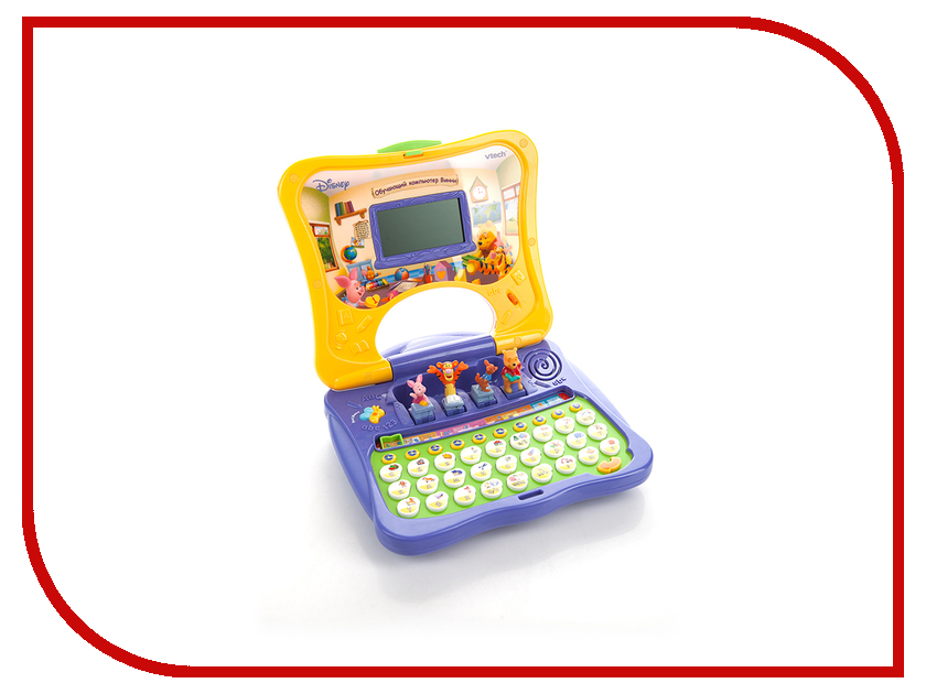 Игрушка Vtech Винни 80-069126 обучающий компьютер электронные игрушки vtech обучающий телефон маленькой принцессы 80 069226