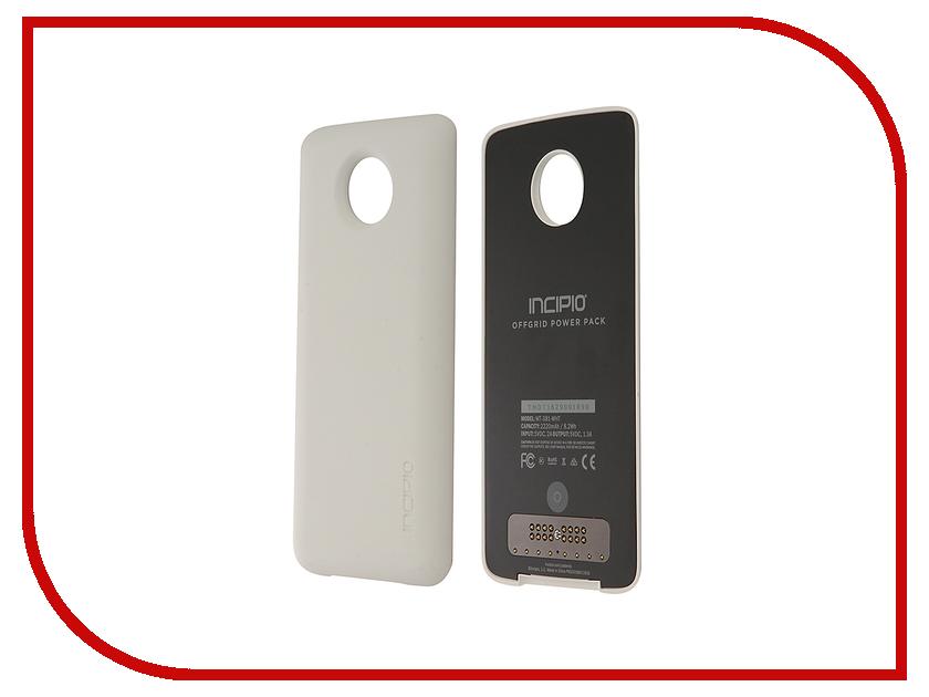 Аксессуар Чехол-аккумулятор Motorola Moto Z Incipio PowerPack White ASMESPRWHTEU проводной и dect телефон philips td 2816d td 2816d