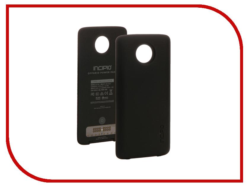 Аксессуар Чехол-аккумулятор Motorola Moto Z Incipio PowerPack Black ASMESPRBLKEU
