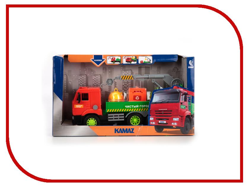 Игрушка Технопарк Камаз мусоровоз WY309K игрушка технопарк зил 130 ct11 309 1
