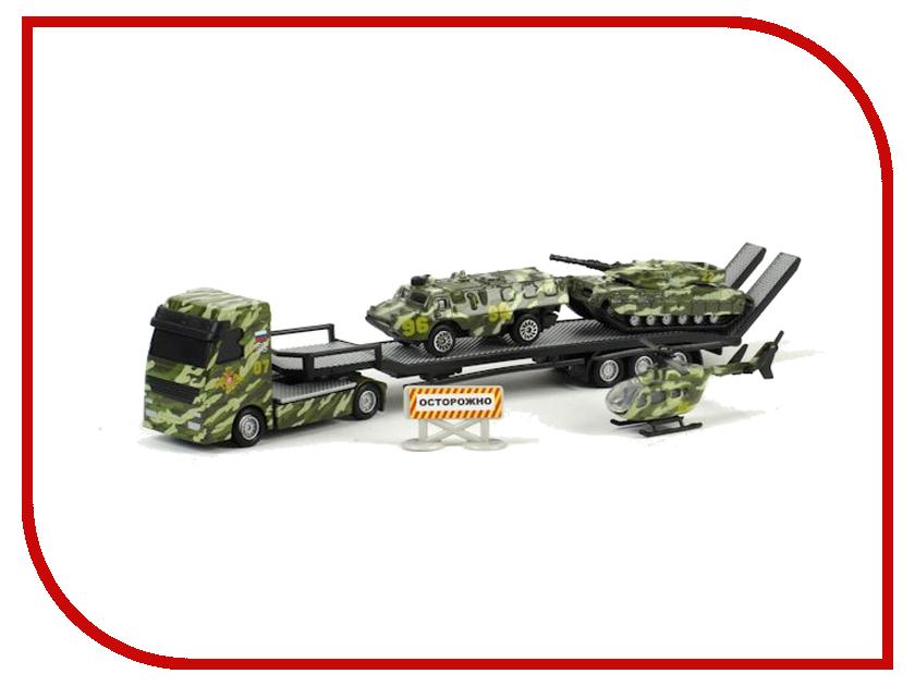 Игрушка Технопарк Набор военной техники CT11-315 игрушка технопарк зил 130 ct11 309 1