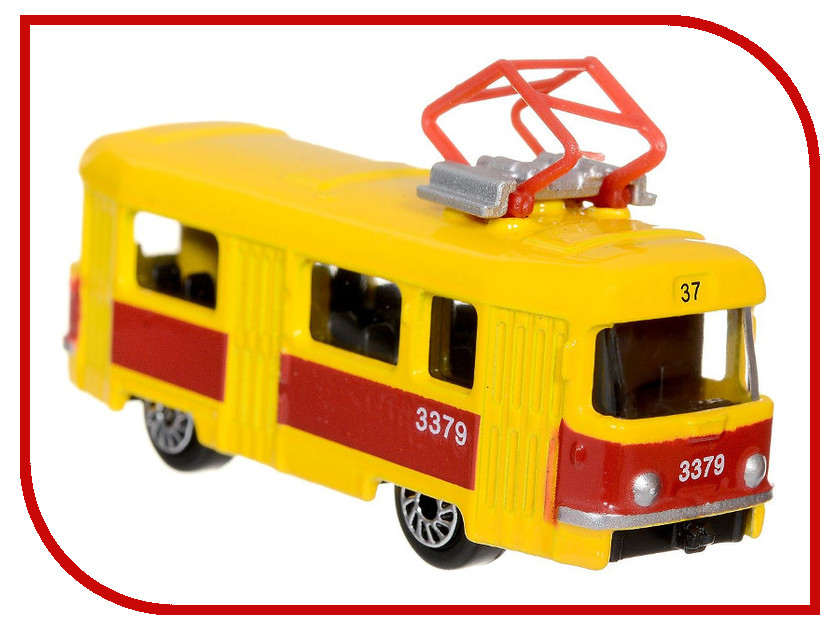 Игрушка Технопарк Трамвай SB-13-01-2T игрушка технопарк lada в спорт окраске 3шт sb 16 79wb
