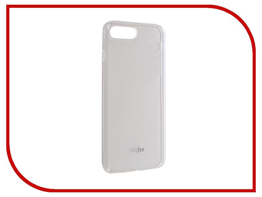 Аксессуар Чехол Dotfes G04 Ultra Slim TPU Case для APPLE iPhone 7 Plus Transparent 47075