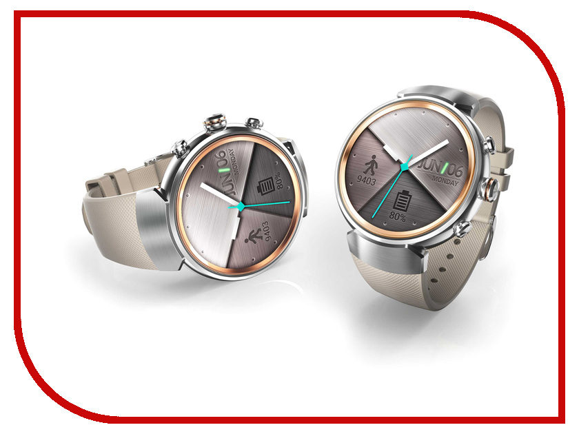 Умные часы ASUS ZenWatch 3 WI503Q WI503Q-2RBGE0013 умные часы asus zenwatch 3 wi503q wi503q 1rgry0011