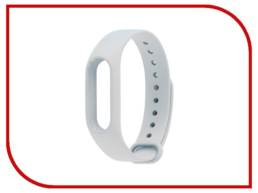 aксессуар кабель red line usb charger for xiaomi mi band 2 black Aксессуар Ремешок Xiaomi Mi Band 2 White