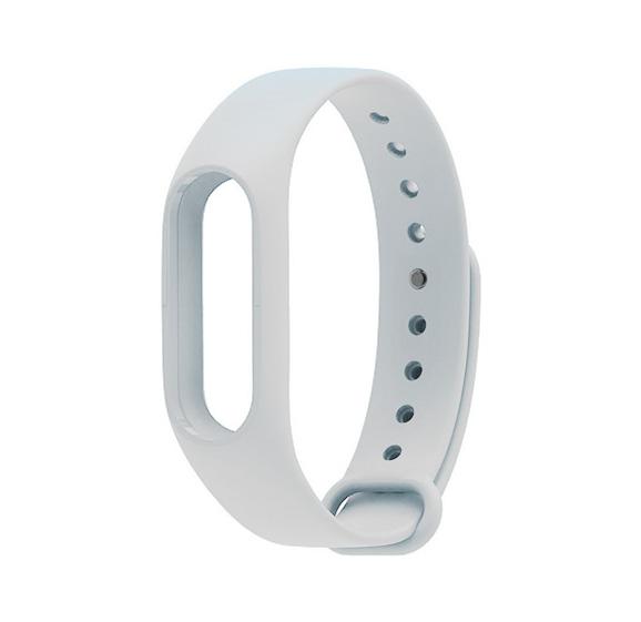 Aксессуар Ремешок Xiaomi Mi Band 2 Silicone White