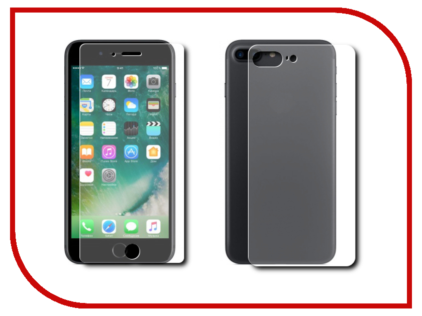 Аксессуар Комплект защитных стекол Dotfes E02 для APPLE iPhone 7 Plus 20365
