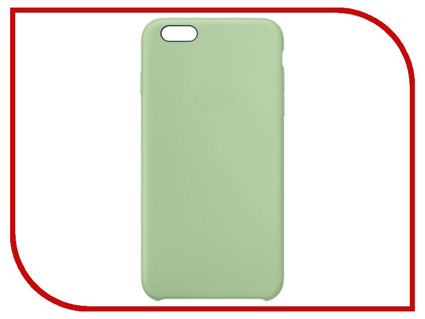 Аксессуар Чехол Krutoff Silicone Case для APPLE iPhone 7 Mint 10741 аксессуар чехол krutoff silicone для iphone 7 plus white 11830