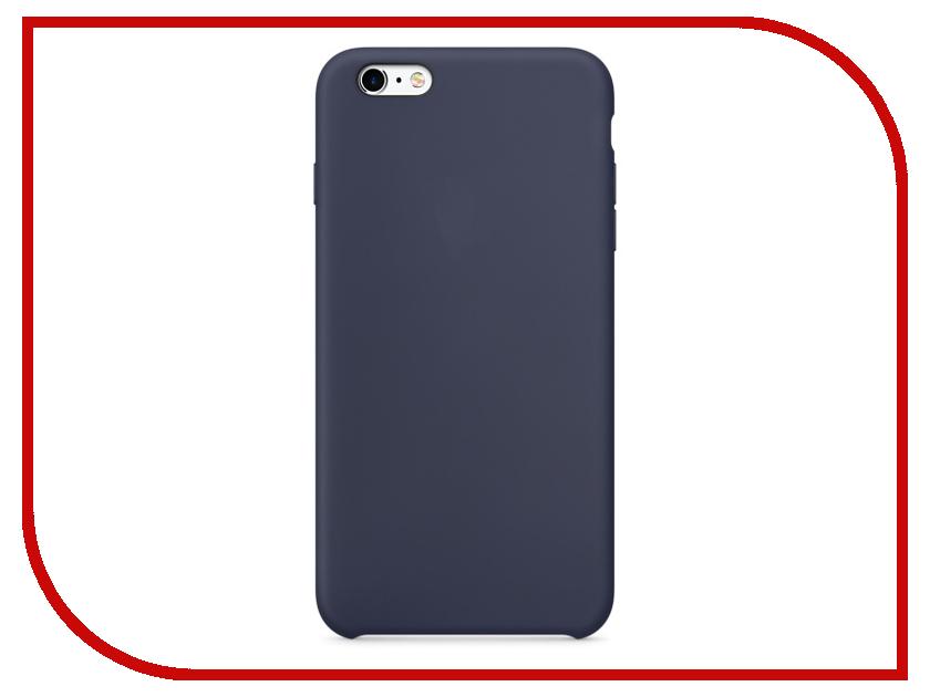 Аксессуар Чехол Krutoff Silicone Case для APPLE iPhone 6/6s Blue 10732