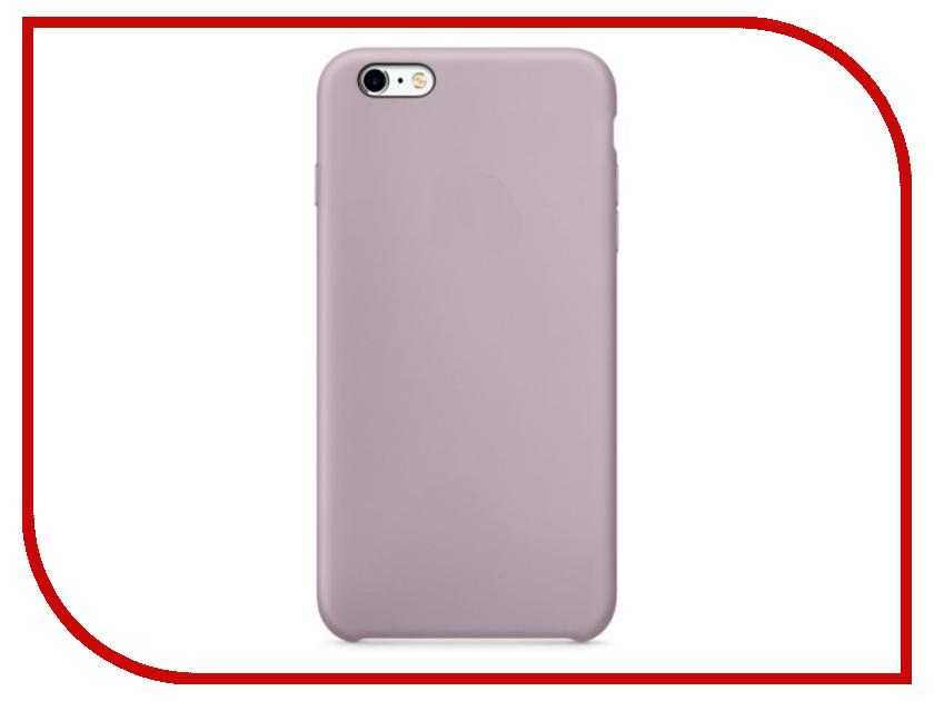 Аксессуар Чехол Krutoff Silicone Case для APPLE iPhone 6/6s Lavender 10733 аксессуар чехол krutoff silicone case для apple iphone 6 6s midnight blue 10727
