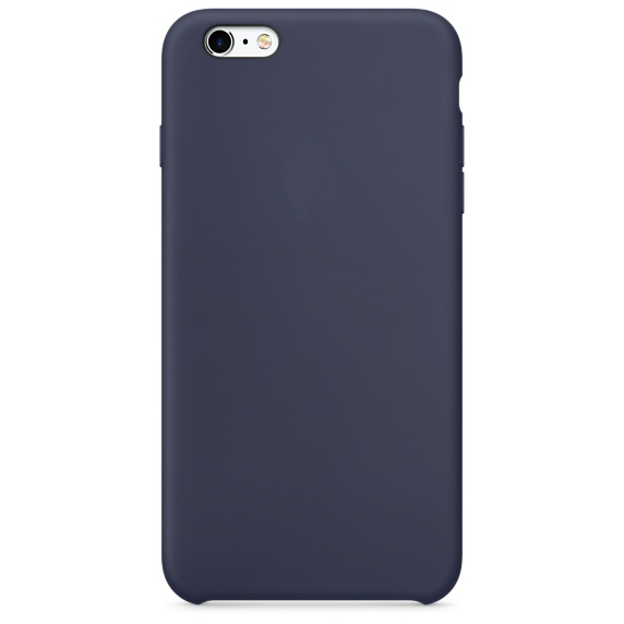 Аксессуар Чехол Krutoff для APPLE iPhone 6 / 6s Silicone Case Midnight Blue 10727
