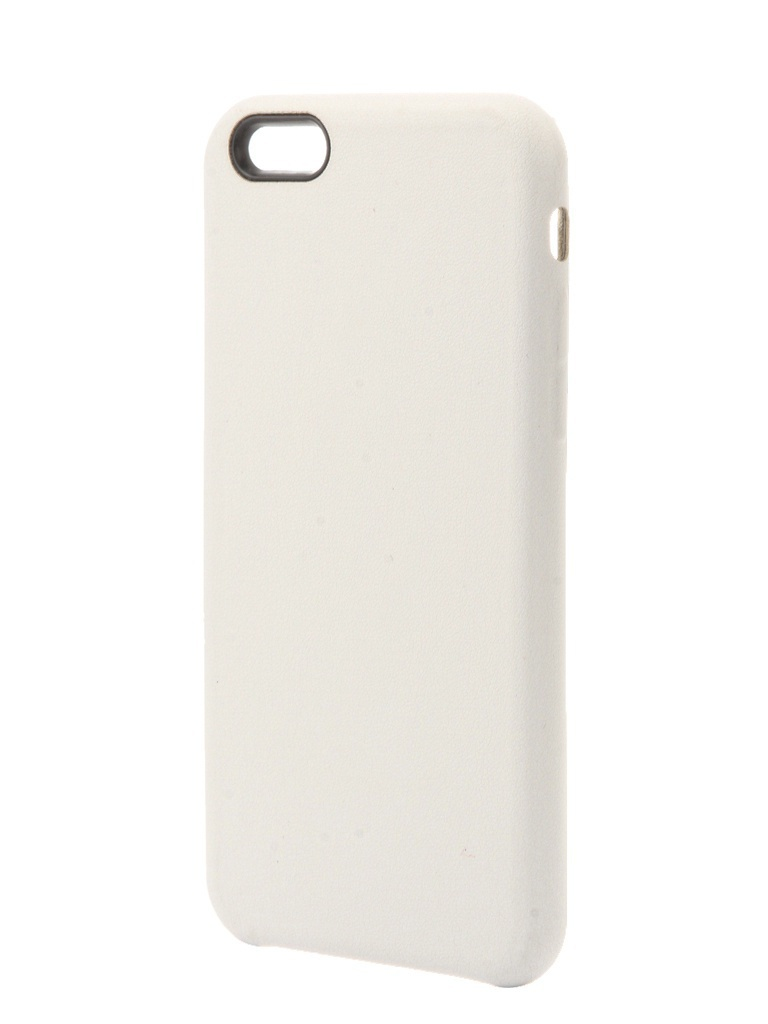 Чехол Krutoff для APPLE iPhone 6 / 6s Silicone Case White 10726