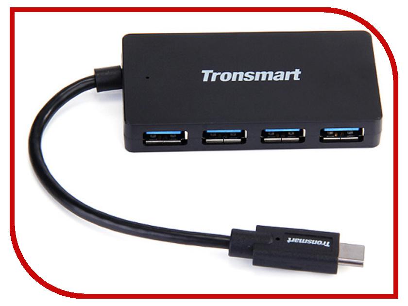 Хаб USB Tronsmart USB Type-C - 4xUSB CT4H