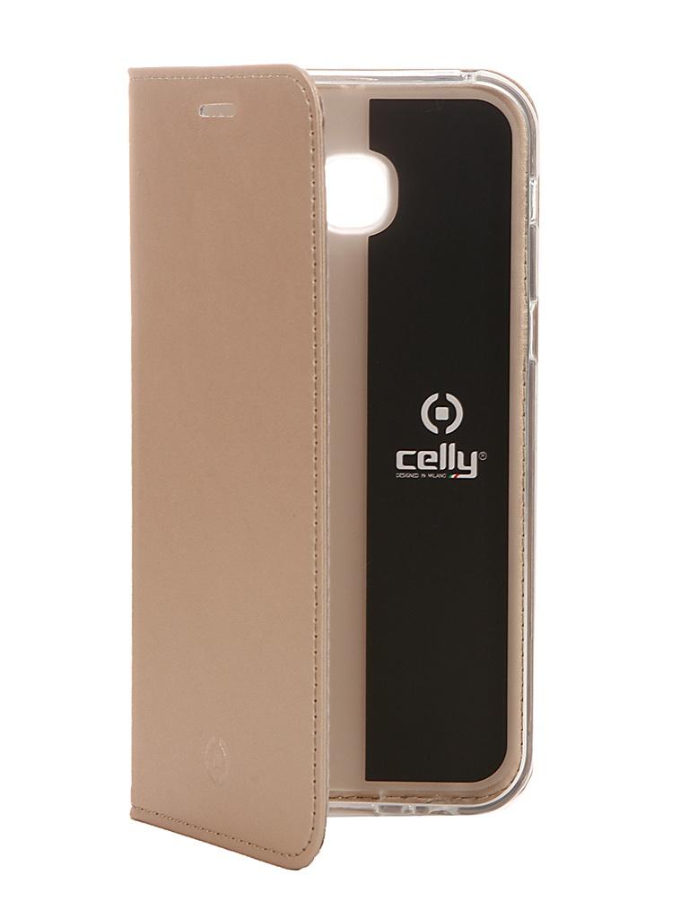 Аксессуар Чехол Celly для Samsung Galaxy A5 2017 Air Case Gold AIR645GDCP стоимость