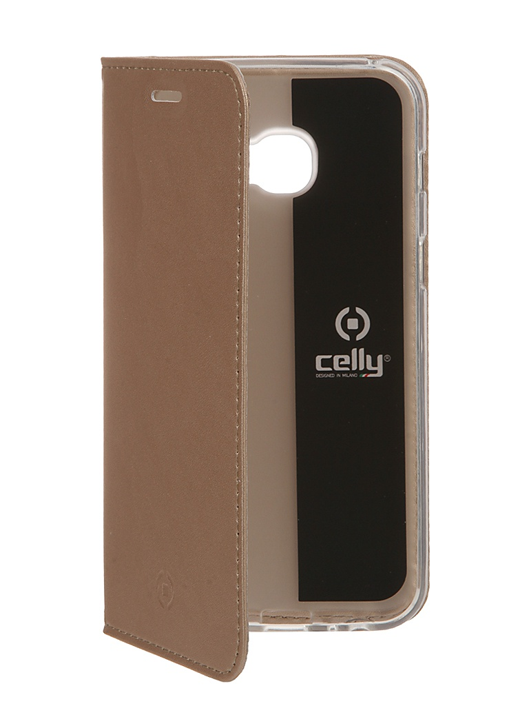 Аксессуар Чехол Celly для Samsung Galaxy A3 2017 Air Case Gold AIR643GDCP celly frost чехол для samsung galaxy a3 2016 grey
