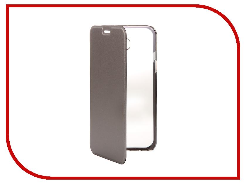 Аксессуар Чехол Samsung Galaxy A7 2017 Muvit Folio Stand Case Metallic MLFLC0017 muvit etui для iphone 5se folio stand black musns0272