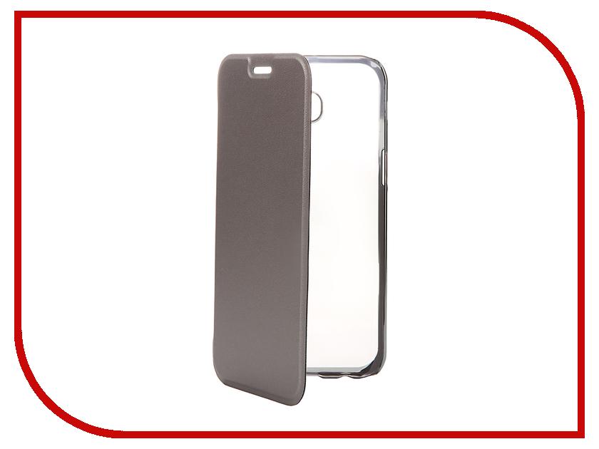 все цены на Аксессуар Чехол Samsung Galaxy A5 2017 Muvit Folio Stand Case Metallic MLFLC0015 онлайн