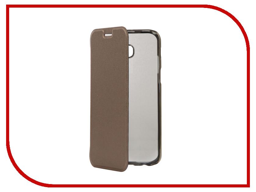 Аксессуар Чехол Samsung Galaxy A5 2017 Muvit Folio Stand Case Gold MLFLC0016 аксессуар чехол книжка iphone 6 plus muvit wallet folio stand case black musns0073