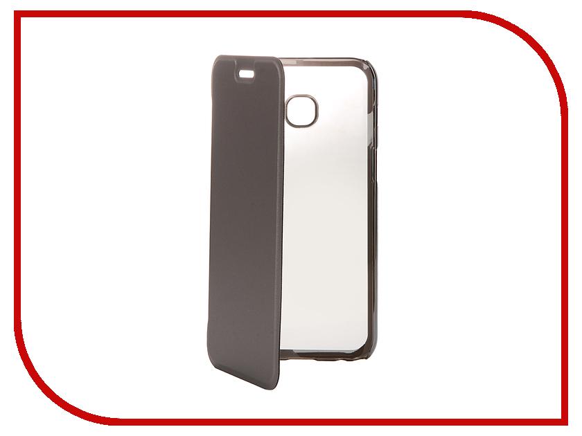Аксессуар Чехол Samsung Galaxy A3 2017 Muvit Folio Stand Case Metallic MLFLC0013 аксессуар чехол книжка iphone 6 plus muvit wallet folio stand case black musns0073