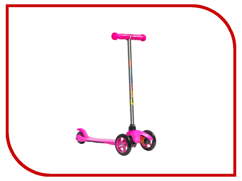 Самокат Bibitu Sweet SKL-06A Pink
