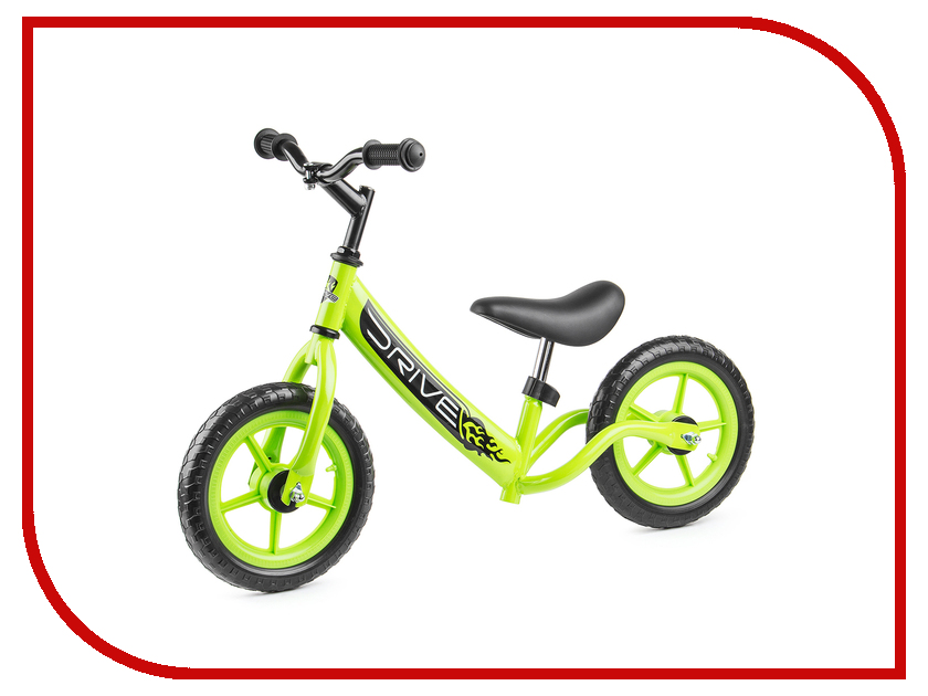 Беговел Small Rider Drive Green