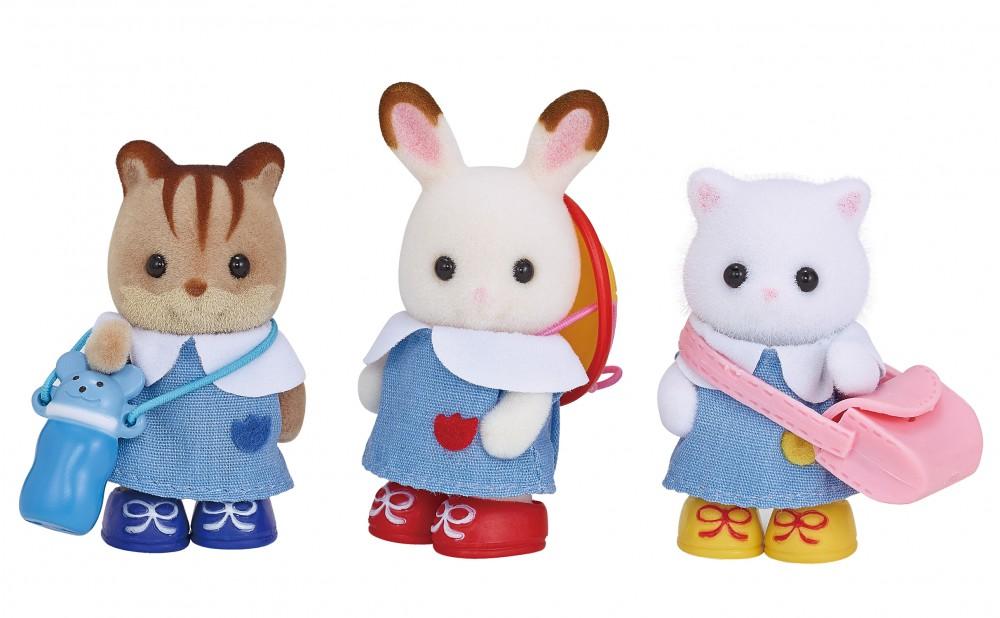 купить Игрушка Игровой набор Sylvanian Families Друзья в детском саду 5262 онлайн