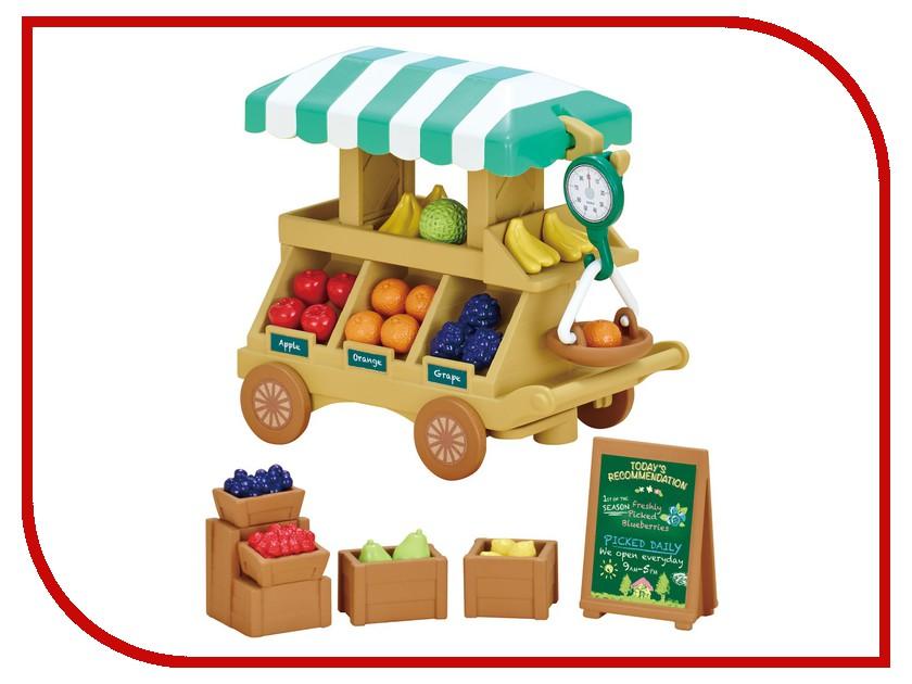 Игра Sylvanian Families Тележка с фруктами 5265 sylvanian families холодильник с продуктами