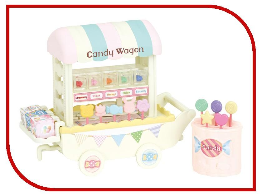 Игра Sylvanian Families Тележка со сладостями 5266 набор тележка с попкорном sylvanian families