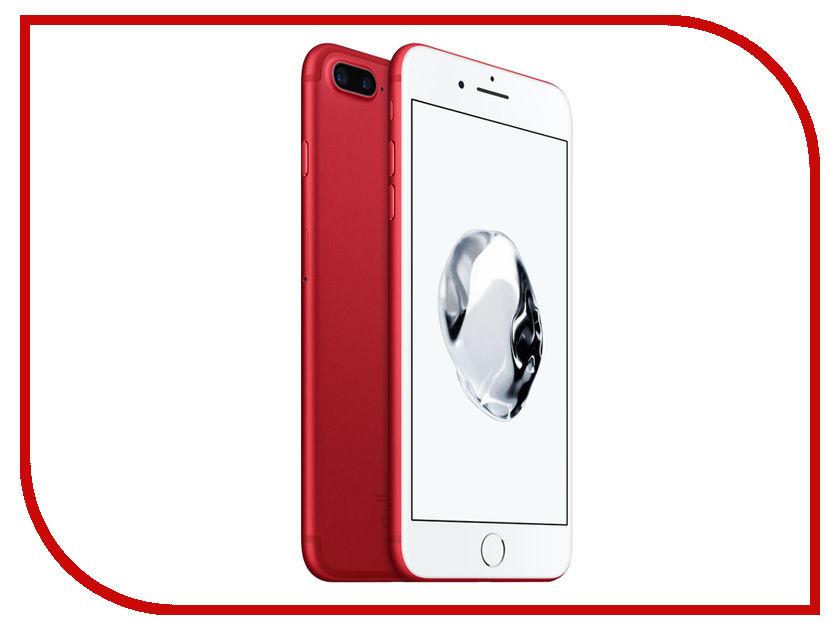 Сотовый телефон APPLE iPhone 7 Plus - 256Gb Product Red MPR62RU/A сотовый телефон apple iphone 7 plus 256gb product red mpr62ru a