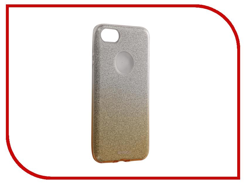 Аксессуар Чехол Ensida Gradient Shine Series для APPLE iPhone 7 Gold ENS710001
