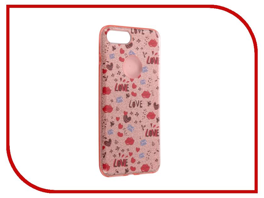 Аксессуар Чехол Ensida Love Series для APPLE iPhone 7 Plus Rose Gold ENS7100003
