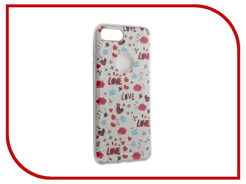Аксессуар Чехол Ensida Love Series для APPLE iPhone 7 Plus Silver ENS7100001