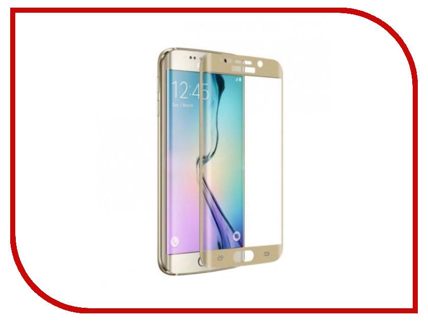 Аксессуар Защитное стекло Samsung Galaxy S7 Mobius 3D Full Cover Gold
