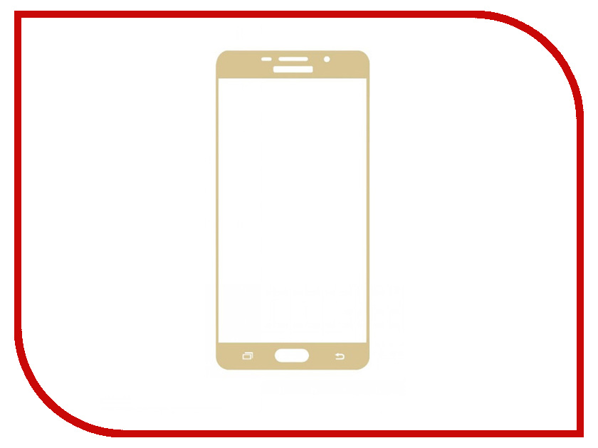 Аксессуар Защитное стекло Samsung Galaxy J5 Prime Mobius 3D Full Cover Gold аксессуар чехол samsung galaxy j5 prime g570 celly air case black air640bk