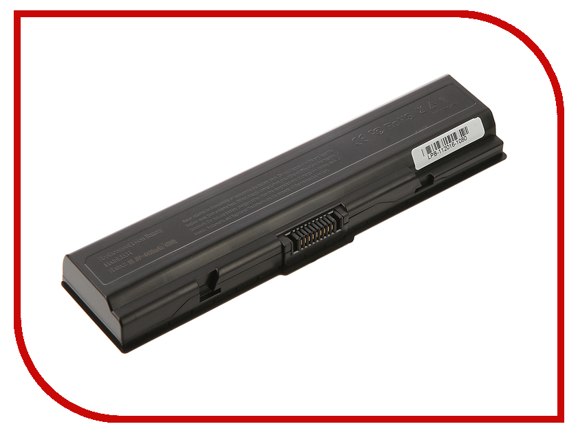 Аккумулятор 4parts LPB-PA3534 для Toshiba Satellite A200/A210/A300A500/L200/L300/L500/L550/M200 10.8V 4400mAh