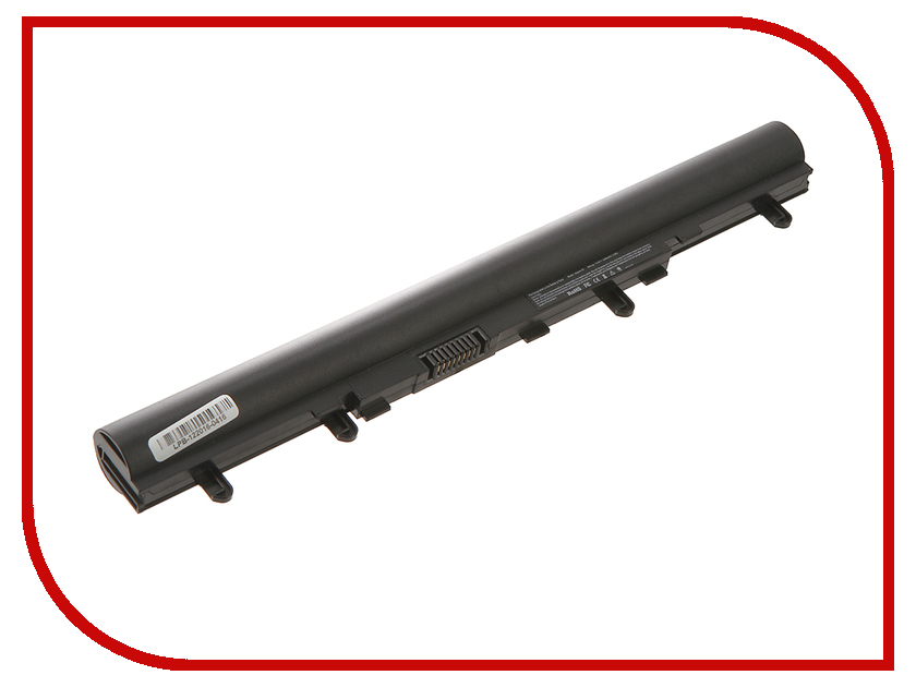 Аккумулятор 4parts LPB-V5 для Acer Aspire V5-431/V5-471/V5-531/V5-551/V5-571 14.8V 2200mAh AL12A32 AL12A72 laptop palmrest for acer v5 v5 531 v5 531g v5 571 v5 571g syq604vm210 upper case silver new without touchpad