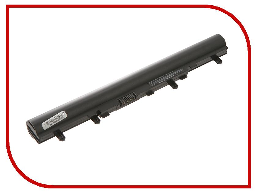 Аккумулятор 4parts LPB-V5 для Acer Aspire V5-431/V5-471/V5-531/V5-551/V5-571 14.8V 2200mAh AL12A32 AL12A72 стенка марина 5