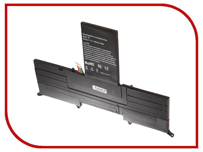 Аккумулятор 4parts LPB-S3 для Acer S3-391/S3-951 Ultrabook 11.1V 2600mAh AP11D3F/AP11D4F s3 2 16 dgmedia