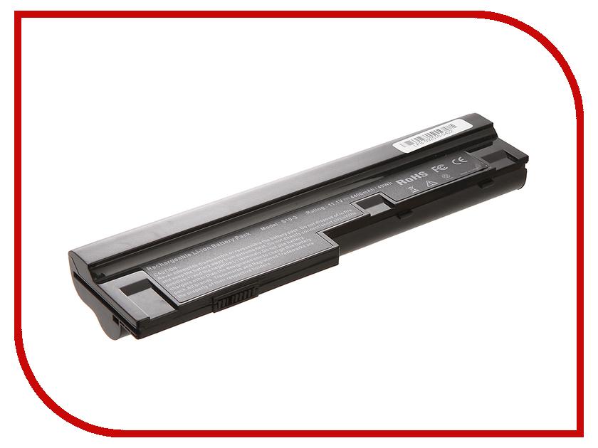Аккумулятор 4parts LPB-S10-3 для Lenovo IdeaPad S10-3/S100/S110/S205/U160/U165 Series 11.1V 4400mAh L09C3Z14/L09C аккумулятор tempo lpb s10 11 1v 4400mah for lenovo ideapad s9e s10e s10 1 s12 series