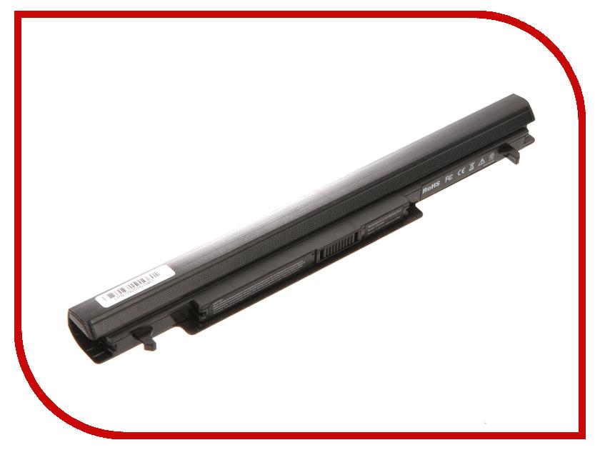 Аккумулятор 4parts LPB-K56 для ASUS K46/K56/A46/A56/S46/S56 Series 14.8V 2200mAh A31-K56/A32-K56/A41-K56/A42-K56 аккумулятор 4parts lpb s400 для lenovo s300 s310 s400 s405 s410 s415 14 8v 2200mah l12s4z01 4icr17 65