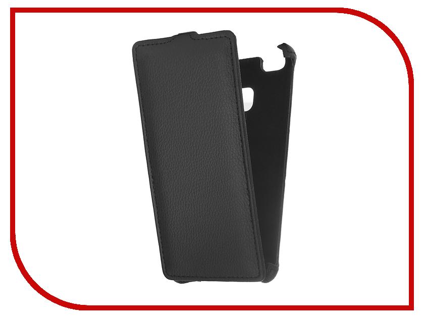 Аксессуар Чехол Huawei P9 Lite Gecko Black GG-F-HUA-P9lTE-BL аксессуар чехол meizu m2 mini gecko black gg f meim2mini bl