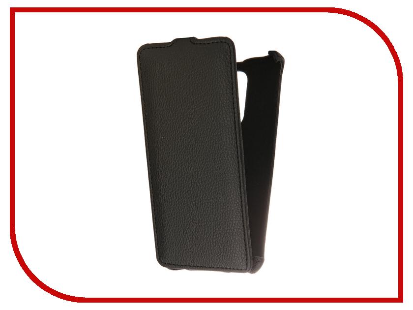 Аксессуар Чехол Huawei Honor 6X Gecko Black GG-F-HUA-6X-BL аксессуар чехол meizu m2 mini gecko black gg f meim2mini bl