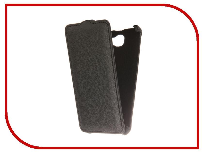 Аксессуар Чехол Huawei Honor 5A Gecko Black GG-F-HUA-5A-BL аксессуар чехол huawei honor 5a zibelino classico black zcl hua hon 5a blk