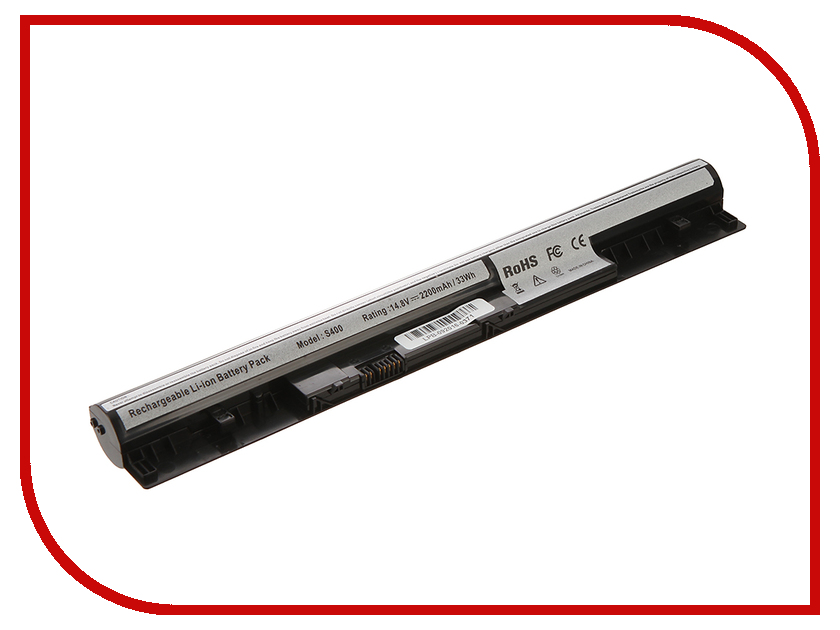 Аккумулятор 4parts LPB-S400 для Lenovo S300/S310/S400/S405/S410/S415. 14.8V 2200mAh L12S4Z01/4ICR17/65