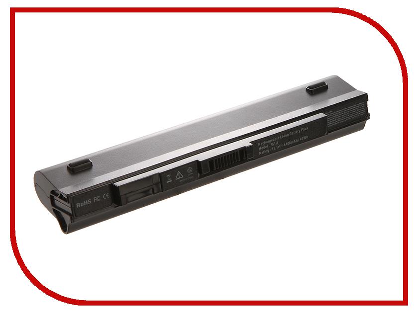 Аккумулятор 4parts LPB-751 для Acer Aspire ONE 531H/751H/AO751H/Aspire One ZG3/ZG8 Series 11.1V 4400mAh UM09A41