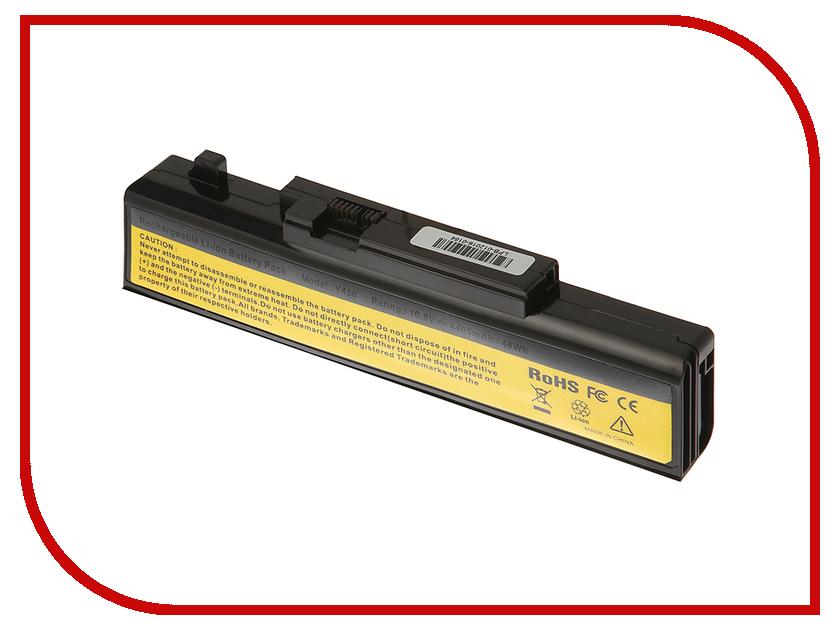 Аккумулятор 4parts LPB-Y450 для Lenovo IdeaPad Y450A/Y450G/Y550A/Y550P Series 11.1V 4400mAh 55Y2054/L08L6D13